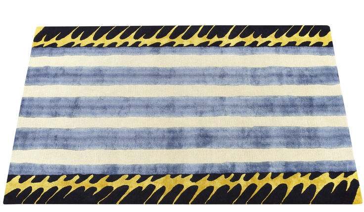 'Oriental Sweet Lips' rug by Deirdre Dyson from the 'Designs from the Deep' collection.