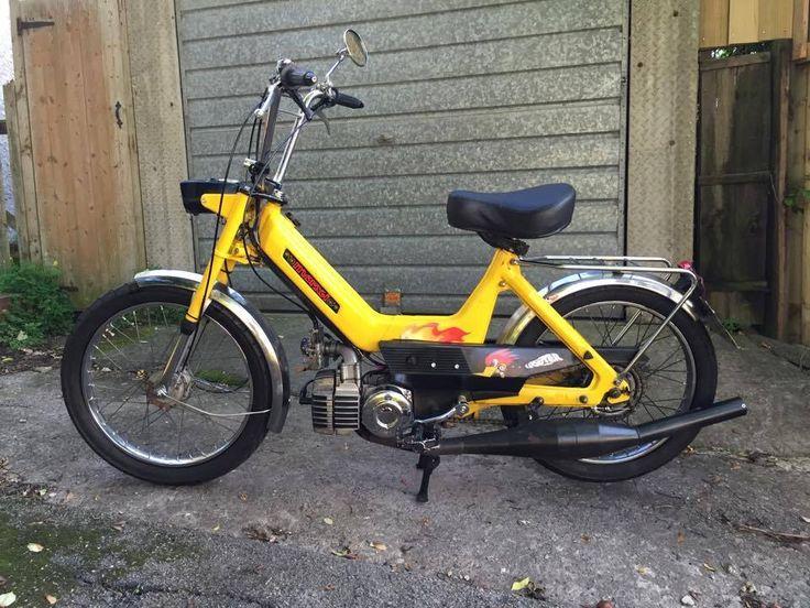 707 best >> cool custom moped pics << images on pinterest | café