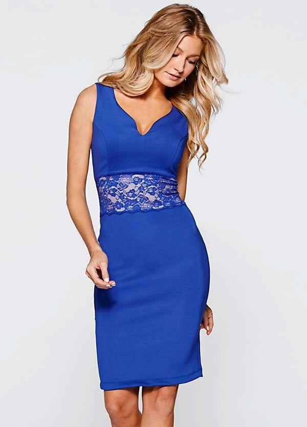 Lace Waist Bodycon Dress