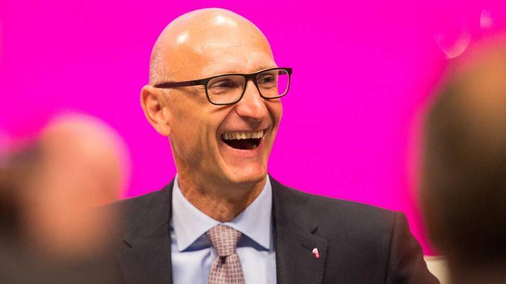 Umsatz, Gewinn, Börsenkurs im Aufwind: Telekom-Chef Höttges hat gute Nachrichten für Kunden und Anleger