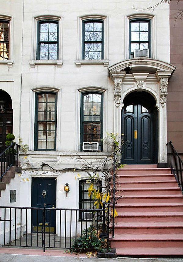 Breakfastattiffanys, Black Doors, Cities, Dreams House, Breakfast At Tiffanys, Holly Golightly, Places, New York, Apartments