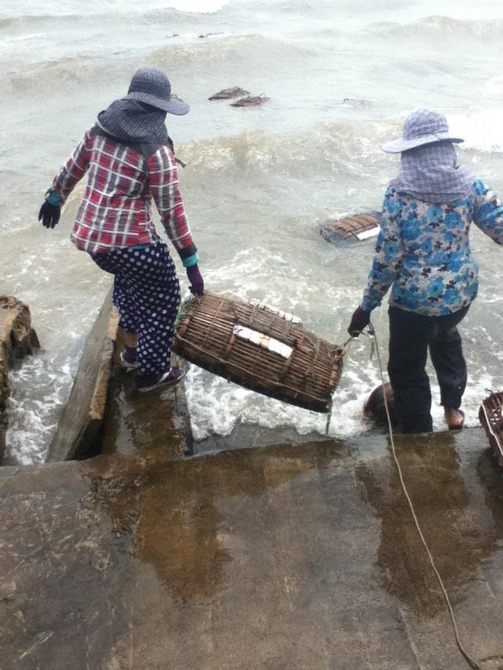 Crabing, Kep Cambodia