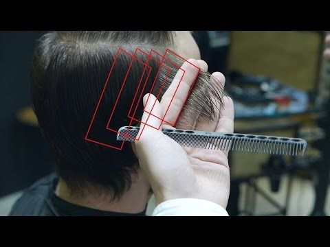 How to cut Long Men's Haircut, Scissors + Clippers - YouTube