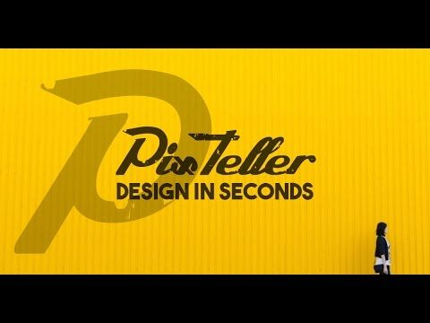 Design in Seconds on PixTeller