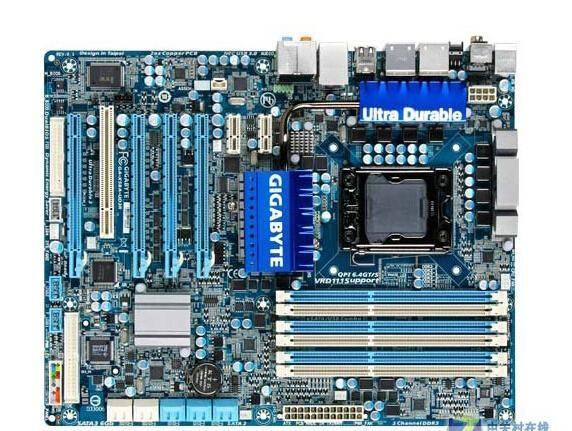 [Visit to Buy] Free shipping original Desktofor Gigabyte GA-X58A-UD3R lga 1366 ddr3 USB3. 0 SATA3 L5639 L5520 X58A-UD3R X58 boards  #Advertisement