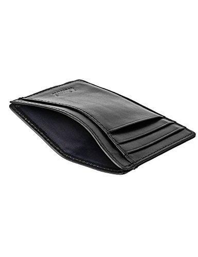 ecfd3337e39 Slim Wallet RFID Front Pocket Wallet Minimalist Secure Thin Credit Card  Holder  Wallet  menaccessories  cardholder  cardcase
