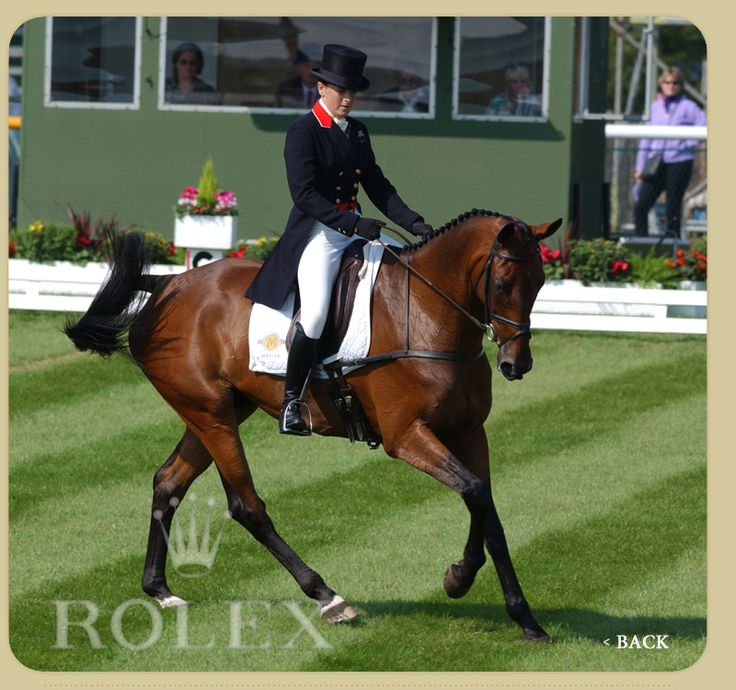 pippa funnell, only rider to win the rolex grand slam of eventing