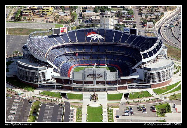 Denver Bronco Stadium (Invesco Field)