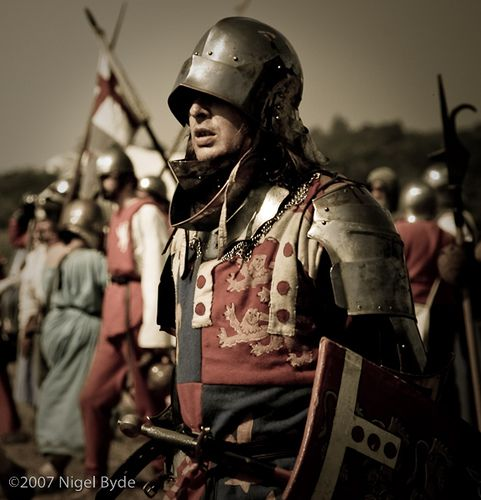 Knight, Tewkesbury medieval fair.    by PrismRed on Flickr.