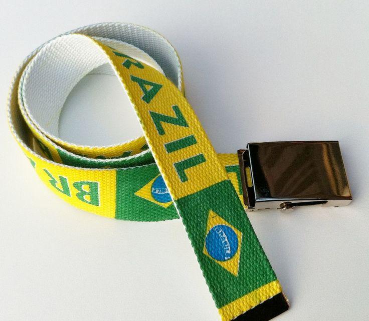 BRAZIL BRASIL BRAZILIAN RIO COUNTRY NATIONAL  FLAG BELT #brazil #brazilian #brazilflag #brazilianflag #brazilfashionbelt #brazilbelt #fashionbelt #belt