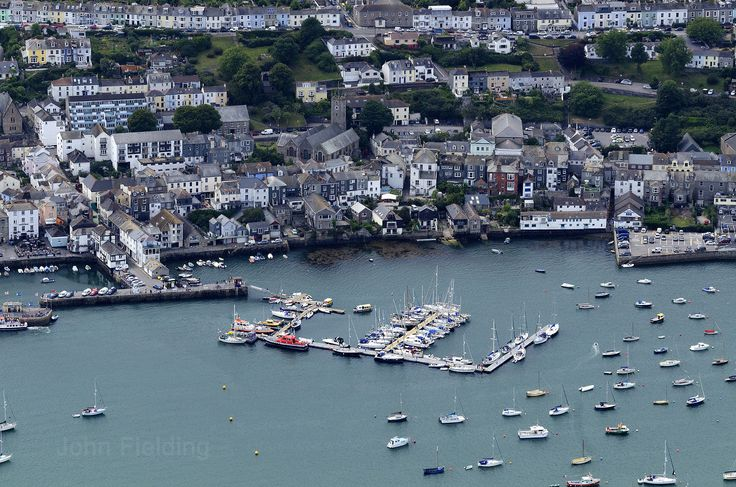 Falmouth aerial image | by John D F