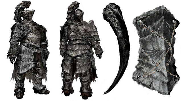 Havel the Rock (Armor, Dragon Tooth, and Shield)