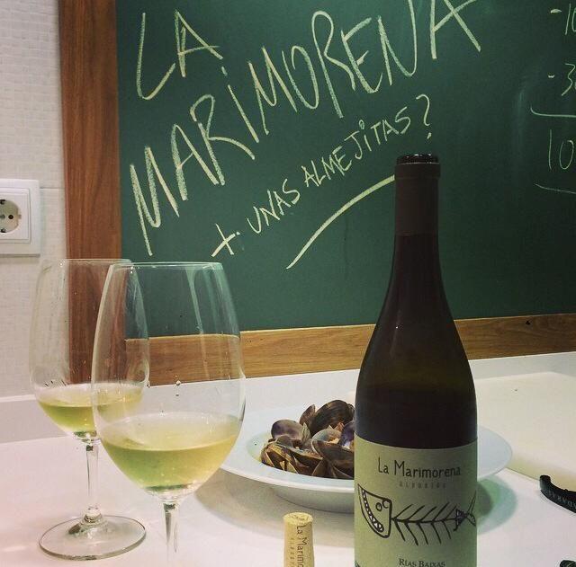 La Marimorena + Almejas ¡Menudo maridaje!