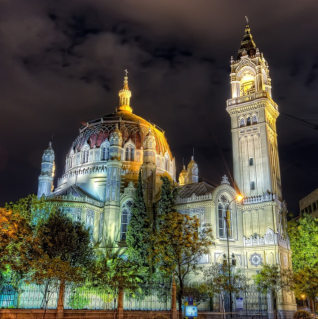 Church of San Manuel and San Benito in Madrid (Spain)
