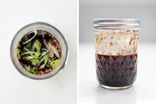 Healthy Teriyaki Sauce (with WAY less sugar).   Here's how: http://www.eatlifewhole.com/2013/09/healthy-teriyaki-sauce-made-with-tamari/