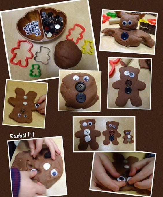 """Bear dough from Rachel ("""",):"""