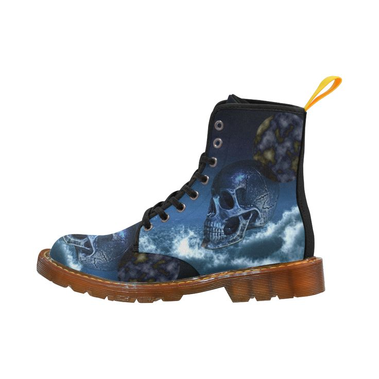 Skull and Moon Martin Boots For Men Model 1203H