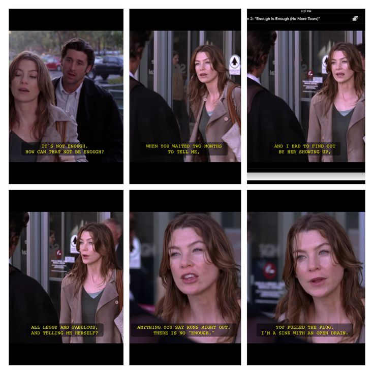 Haha Derick you messed up that time | Greys Anatomy ...