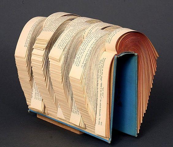 altered, alter, altered book, altered bookwork, bookworks, unique, one of a kind, cut paper, facebook, political art, installation