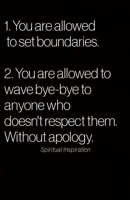 I love this!  #respect#boundaries
