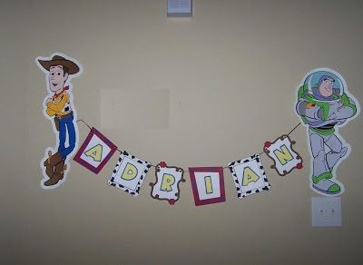 Toy Story Party Banner - Other Crafts - Cricut Forums