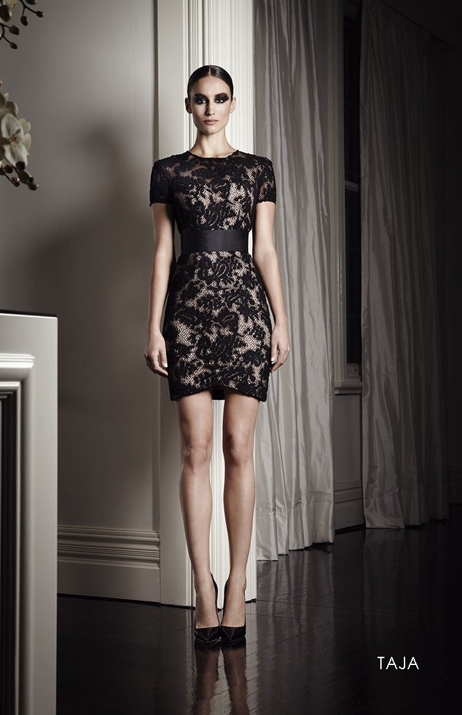 Alex Perry Taja dress. Love the lace!