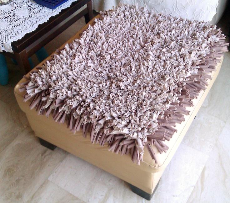Alfombra Chocolate  Color: Beige y marrón chocolate. Medidas: 78X64 cm. Precio: €45.-