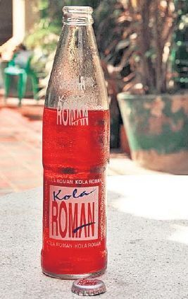 The Kola Román is a Colombian soft drink that was invented in the city of Cartagena, Colombia in 1865 by Don Carlos Román