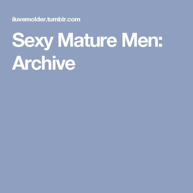 Sexy Mature Men: Archive