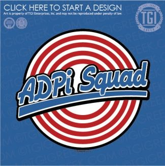 Alpha Delta Pi | ΑΔΠ | ADPi Squad | Tune Squad | ADPi | TGI Greek | Greek Apparel | Custom Apparel | Sorority Tee Shirts | Sorority T-shirts | Custom T-Shirts