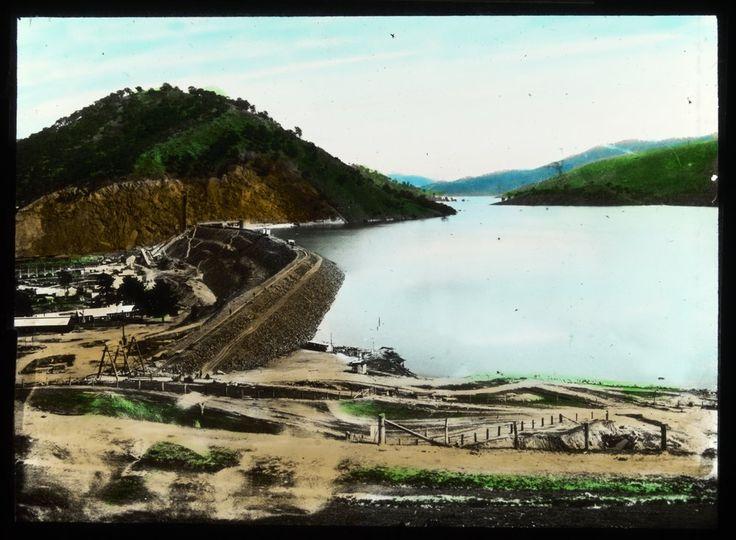Eildon Dam Construction