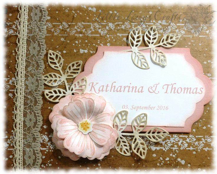 Gästebuch Hochzeit Hochzeitsalbum Fotobuch Gästealbum vintage ...
