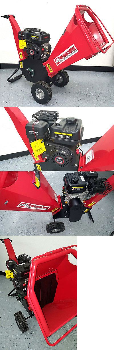 Chippers Shredders and Mulchers 42228: New 6.5Hp 195Cc Gas Powered Wood Chipper Yard Machine Mulcher Shredder 4 Inches -> BUY IT NOW ONLY: $1099 on eBay!