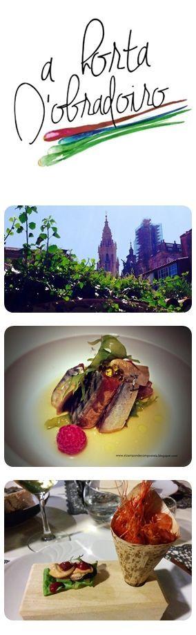 """Este restaurante es una muy buena elección si visitas Santiago. Vas a poder degustar productos muy característicos de la gastronomía gallega, pero cocinados y presentados de una forma moderna y original. Se podría decir que es una combinación perfecta entre cocina de autor y cocina tradicional. Como su nombre indica, desde su """"huerta"""" disfrutarás además de sus vistas a la catedral. Destacar también el trato y el interés de los camareros y el cocinero, para que te sientas como en casa."""