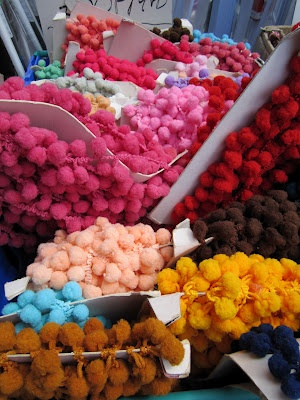 pom-pom triom, longsight market - from my rainbow vintage home blog