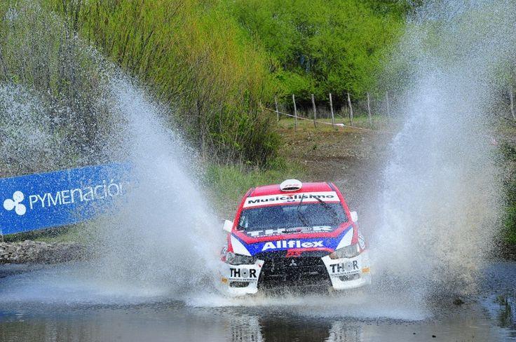 #RallyArgentino en Esquel y Trevelín, #Chubut.  #Argentina #Rally #Race #Car   Más info en http://www.facebook.com/viajaportupais