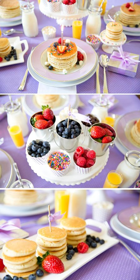 I am sharing my top tips and inspiration for hosting your own pancake party