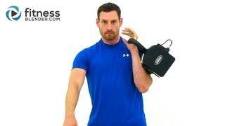 kettlebell workout - YouTube