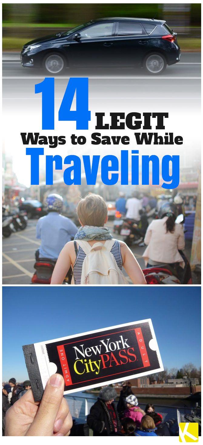 14 Legit Ways to Save While Traveling