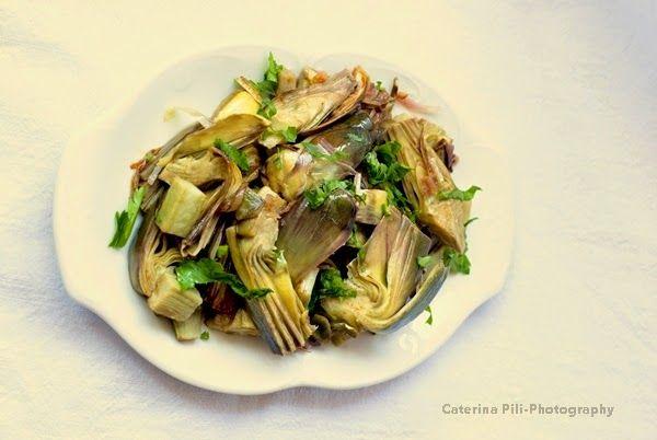 un contorno leggero con i carciofi, un piatto sano e utile al nostro fegato