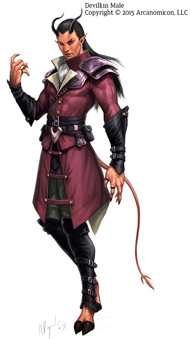 Anime Fight Characters 0 1 : Tales of arcana devilkin male by miguelregodon viantart