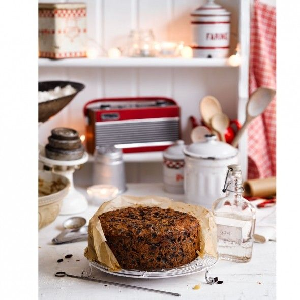 Gin and tea Christmas cake - Good Housekeeping: one of my 2015 Xmas cakes, delicious