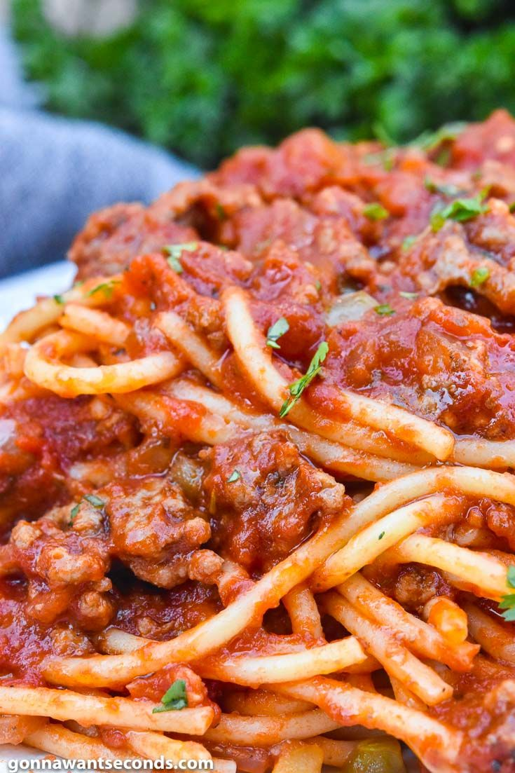 Spaghetti Recipe With Ground Beef Recipe Spaghetti Recipes Ground Beef Recipes Spaghetti With Ground Beef
