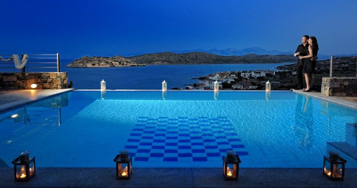 Holiday Villa in Lasithi, Crete - Superb sea view Mirabello villa in Elounda