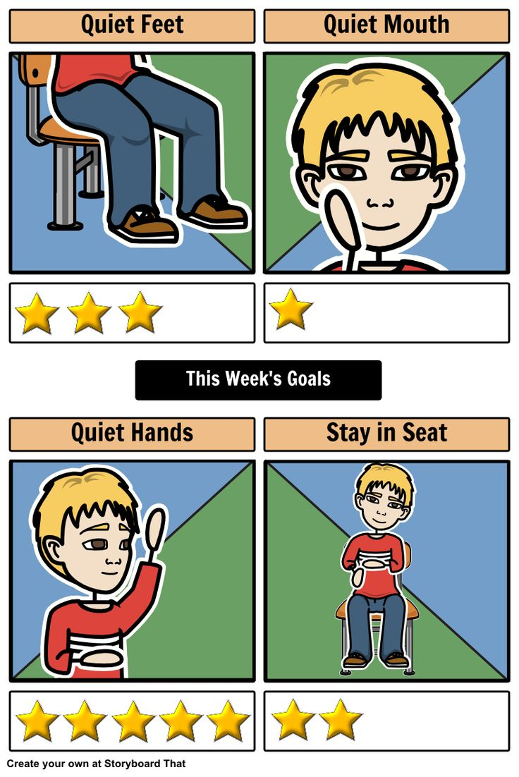 Create your own Positive Reinforcement Chart for your class using Storyboard That!