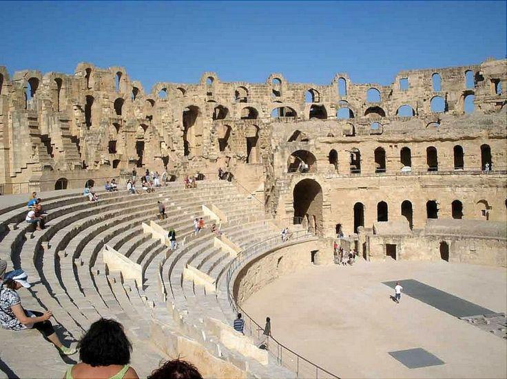 Breathtaking Roman Amphitheater In El Jem Tunisia Photo Vide with The Roman Amphitheatre Of El Jem | Goventures.org