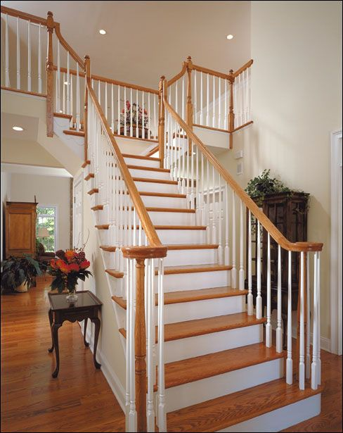 88 best Stairs in Homes images on Pinterest Stairs Staircase