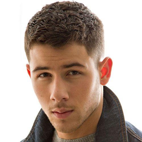 Male Celebrity Hairstyles - Nick Jonas Haircut