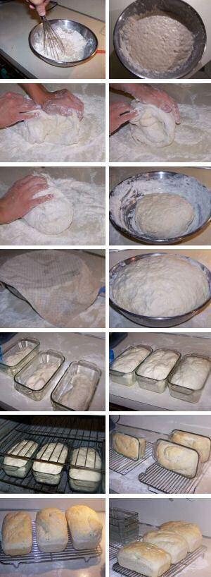 Zelf brood bakken stap voor stap ~ onskookboek.be