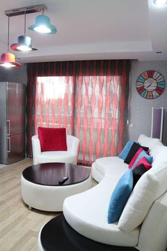 M s de 25 ideas incre bles sobre cortinas transparentes en for Cortinas transparentes